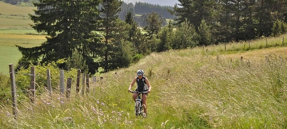 Gtmc Vtt Volvic à Saint Flour Randonnées Vtt Liberté Auvergne Cévennes Evasion Voyages Nature